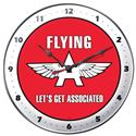 Click here for more information about Flying A Service Station Steel Wall Clock