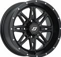 Click here for more information about Sedona Tire and Wheel 570-1198 - Sedona Tire and Wheel Badlands Satin Black Wheels
