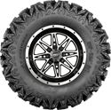 Click here for more information about Sedona Tire and Wheel 570-80176 - Sedona Tire and Wheel Rip Saw RT Tire and Badlands Machined Wheel Kits