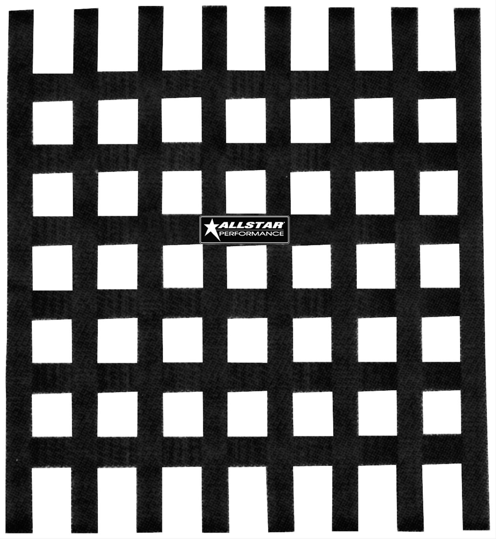 Allstar Performance ALL10290 Loop-Style Window Nets Black Polypropylene Square 1