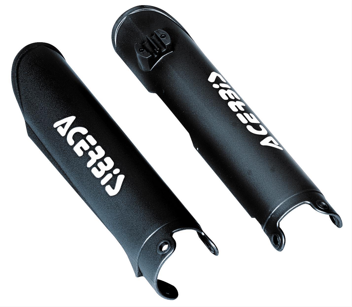 Acerbis 2686520001 Lower Fork Covers Black