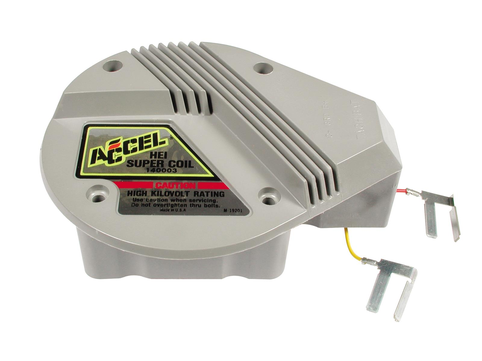 Accel Gm Hei In Cap Super Coils 140003 Free Shipping On Orders Internal Wiring Diagram Over 99 At Summit Racing