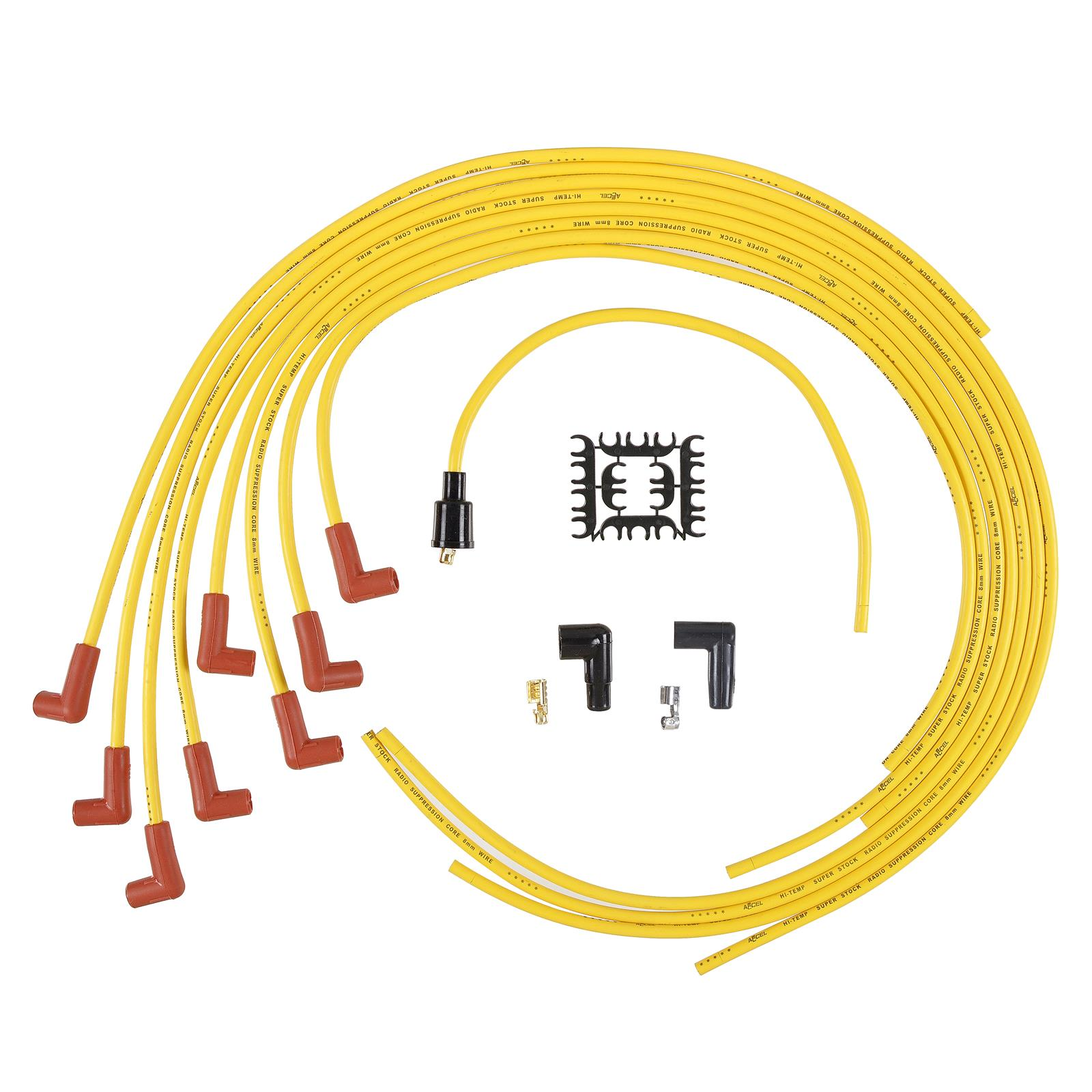 Accel Superstock 4000 Series Spark Plug Wire Sets 4041 Free Taylor Wiring Harness Shipping On Orders Over 99 At Summit Racing