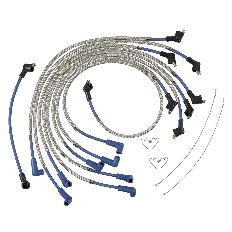 ACCEL Armor Shield Braided Spark Plug Wire Sets 8001B - Free ...