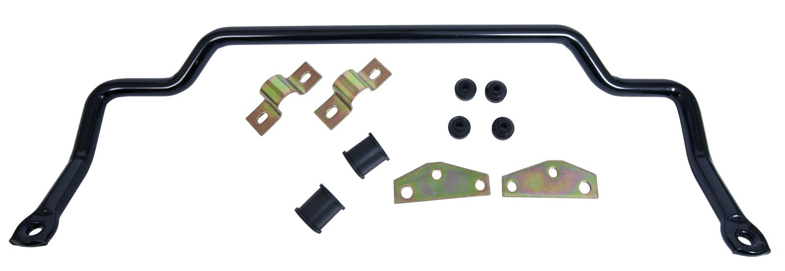 Diameter Fits Jeep Kit Addco 684 Sway Bar Rear Steel Black Powdercoated 1 in
