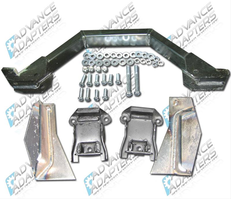 Advance Adapters Weld In Engine Mount Kit For Chevy Lt1: Advance Adapters Engine Swap Motor Mount 713091