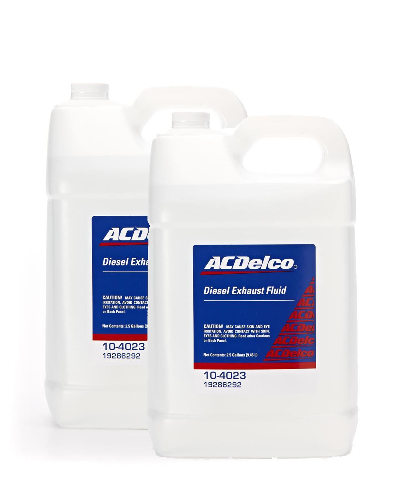 Diesel Exhaust Fluid >> Acdelco Diesel Exhaust Fluid 19286292