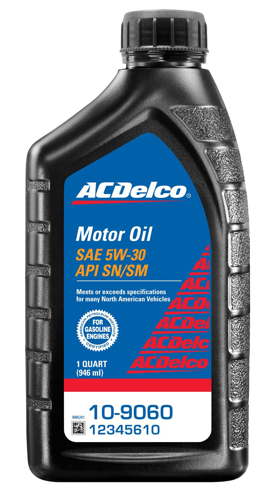Acdelco 88861509 Acdelco Motor Oil Summit Racing