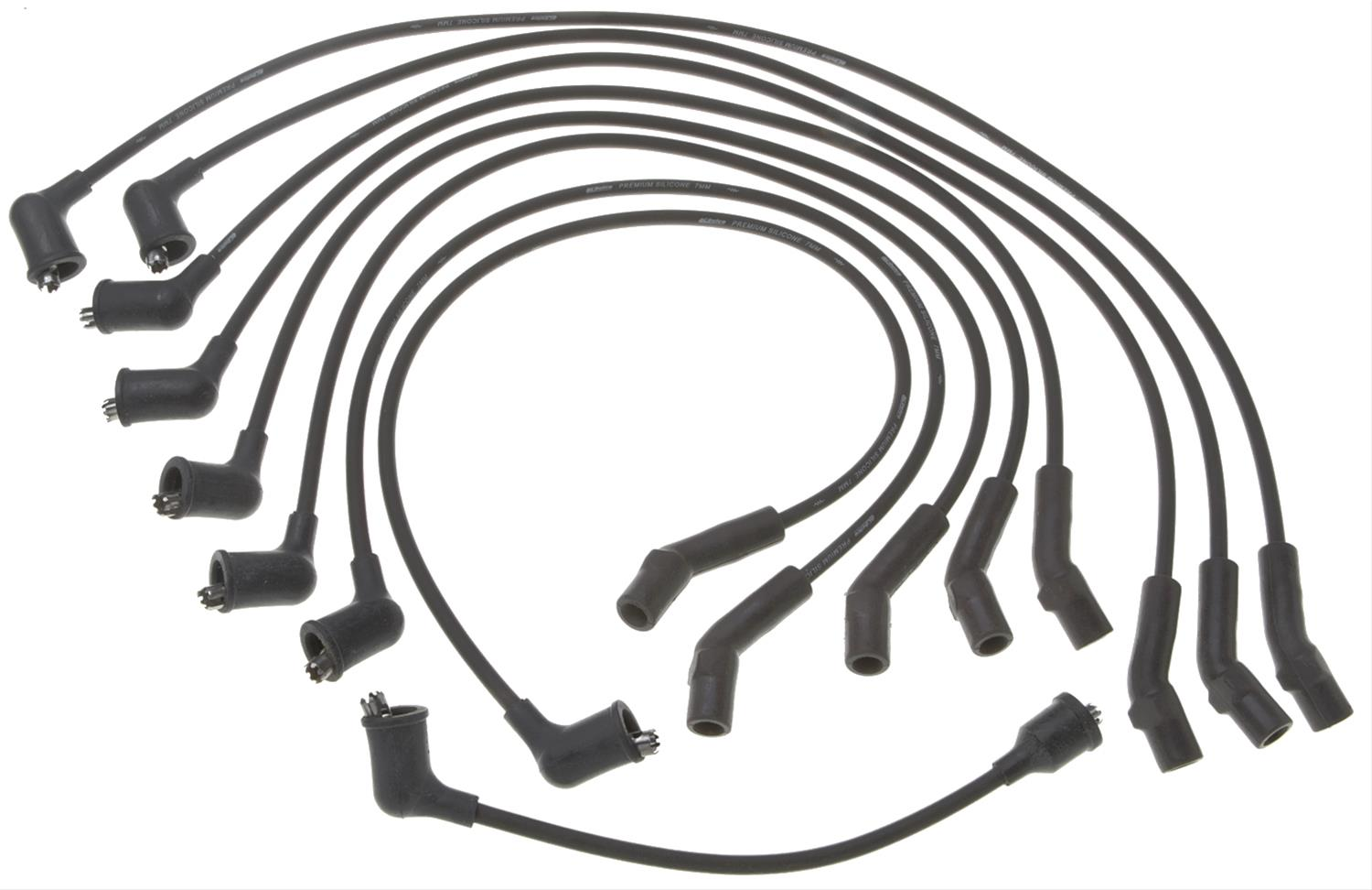 ACDelco 9088A Professional Spark Plug Wire Set