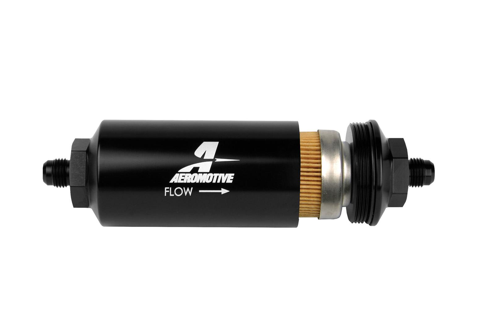 Aeromotive Fuel Filters 12347 Free Shipping On Orders Over 99 At 1987 Toyota Truck Filter Summit Racing