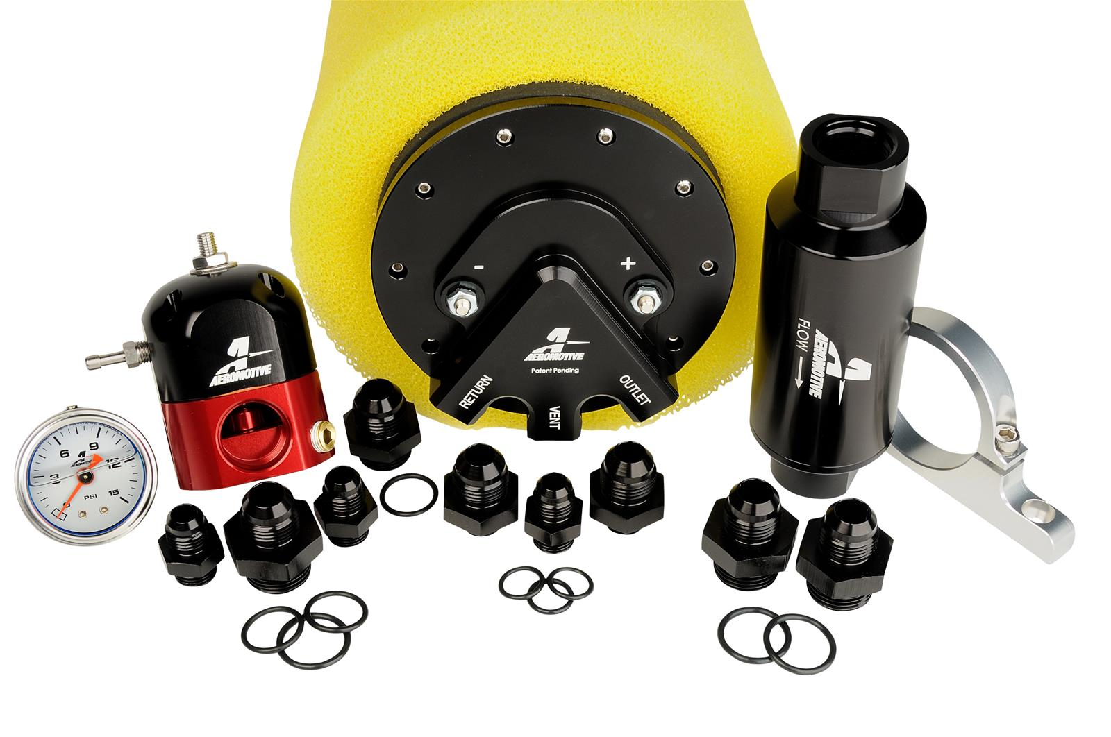 Aeromotive Phantom 200 Stealth Fuel Systems 17255 Free Shipping On Wiring Harness Orders Over 49 At Summit Racing