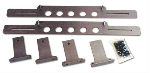 Fan Mounting Hardware : Afco racing electric fan mounting brackets aluminum