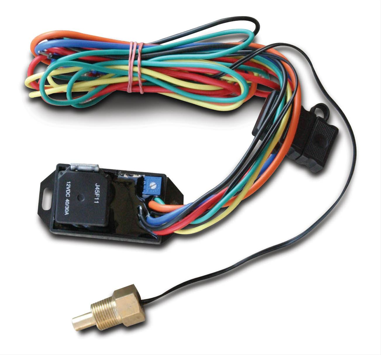 Afco Racing Electric Fan Switches 80199 Free Shipping On Orders Switch Wiring Over 99 At Summit