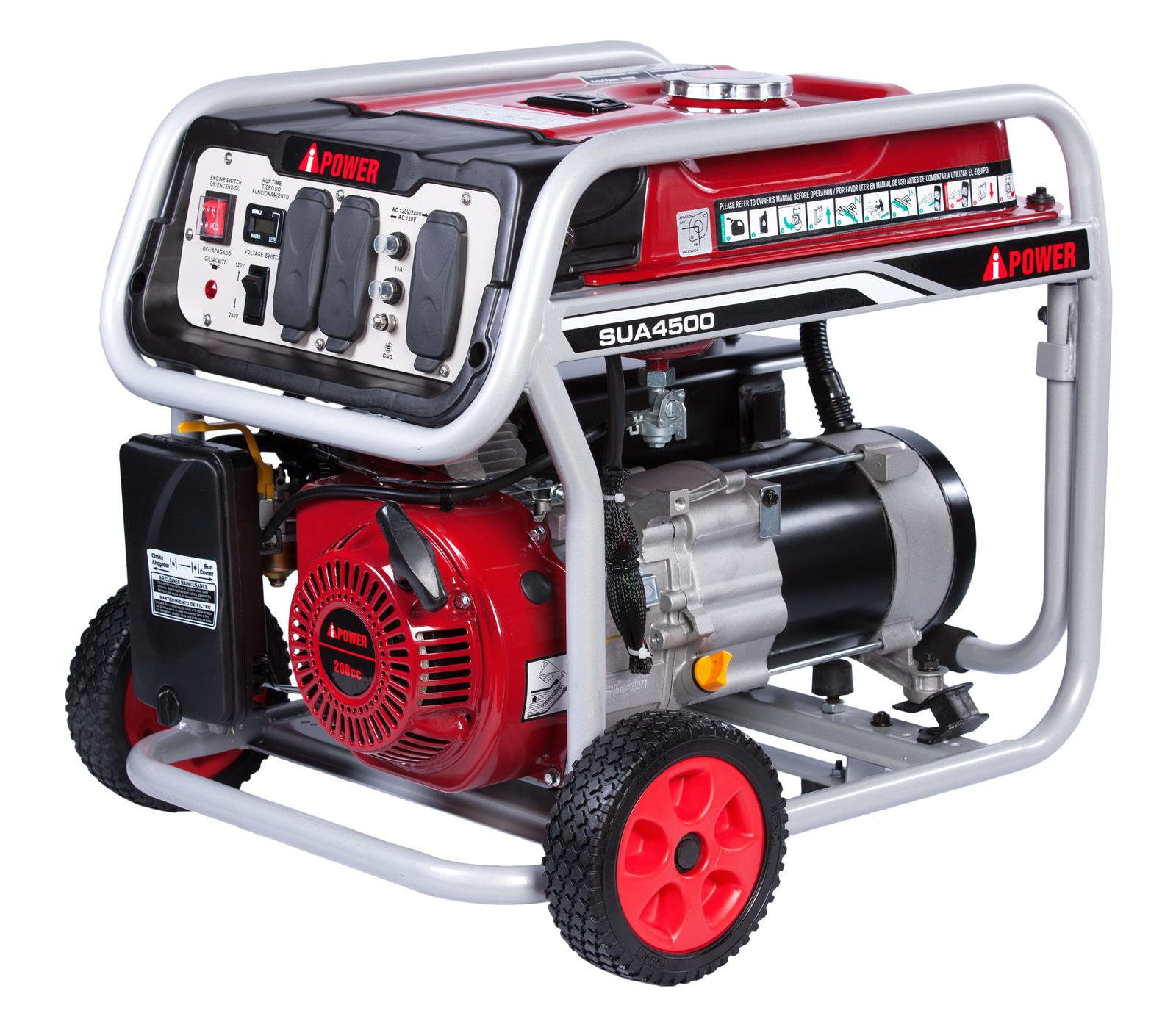 A iPower Portable Generators SUA4500 Free Shipping on Orders