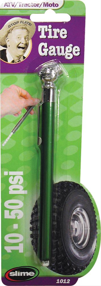 10-50 PSI Slime 1012 Pencil Tire Gauge