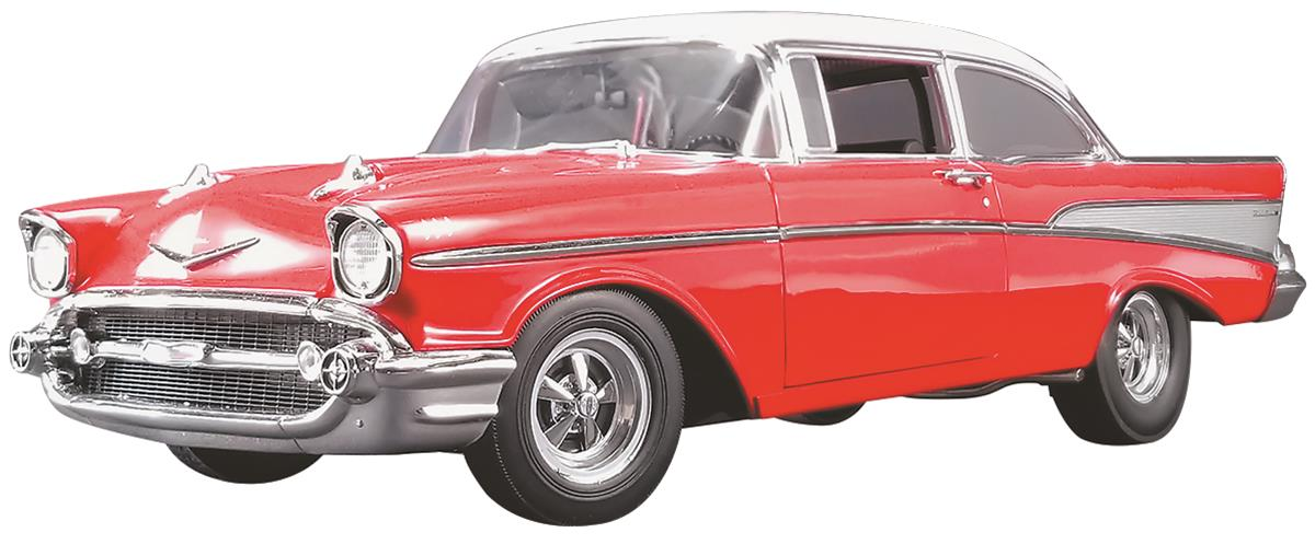 1:18 Scale 1957 Chevy Bel Air Street and Strip Acme Diecast Model A1807005