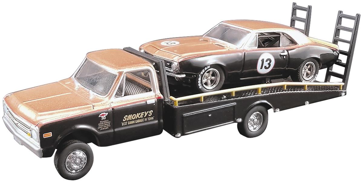 1:64 Scale Smokey Yunick Chevrolet Camaro and C30 Diecast Model Combo  GL-51164