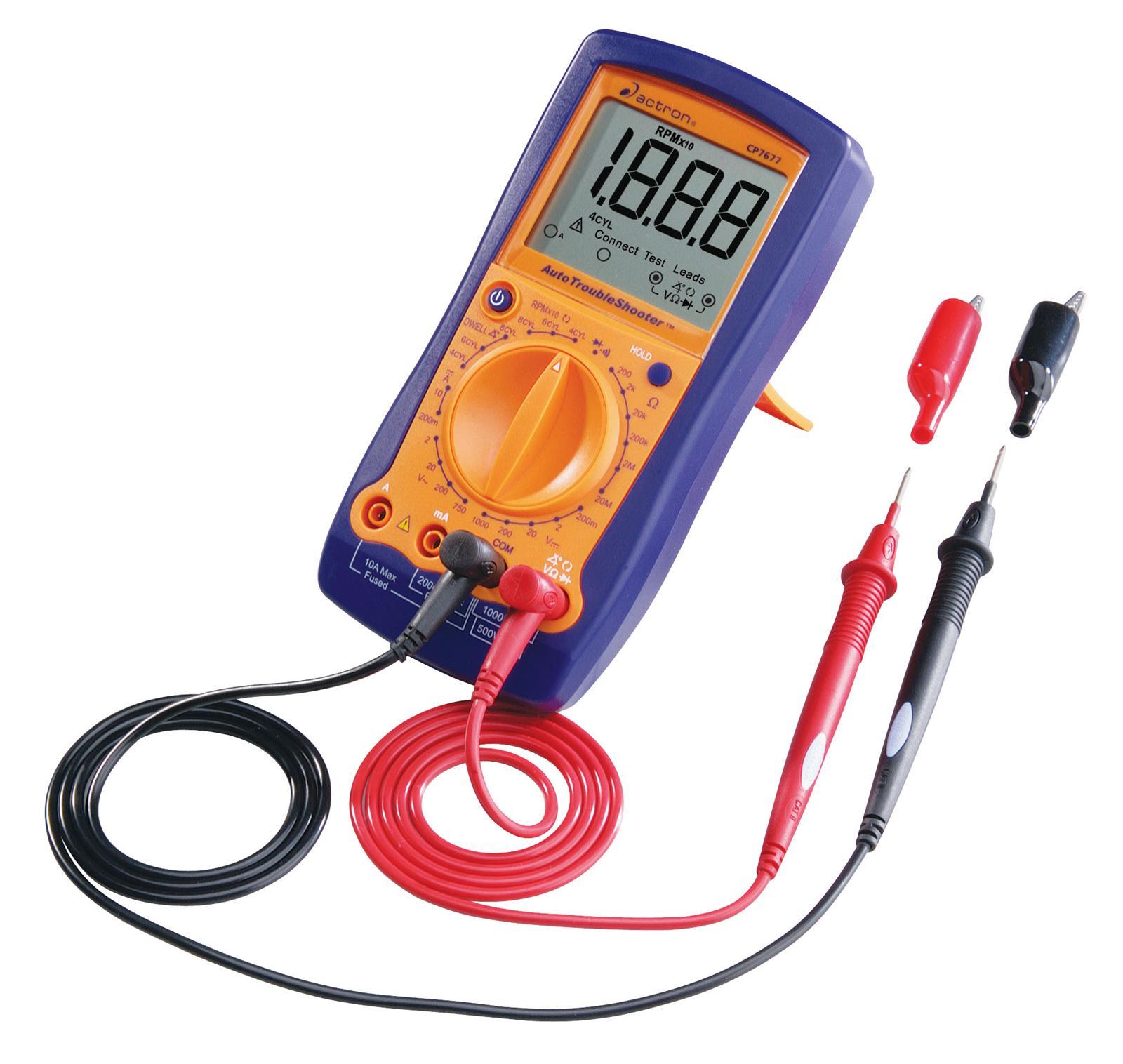 Summit Digital Meters : Actron autotroubleshooter digital multimeter cp ebay