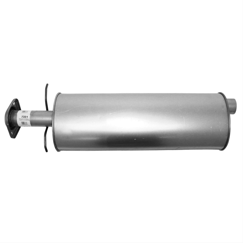 Exhaust Muffler Assembly-Quiet-Flow SS Muffler Assembly Walker 55339