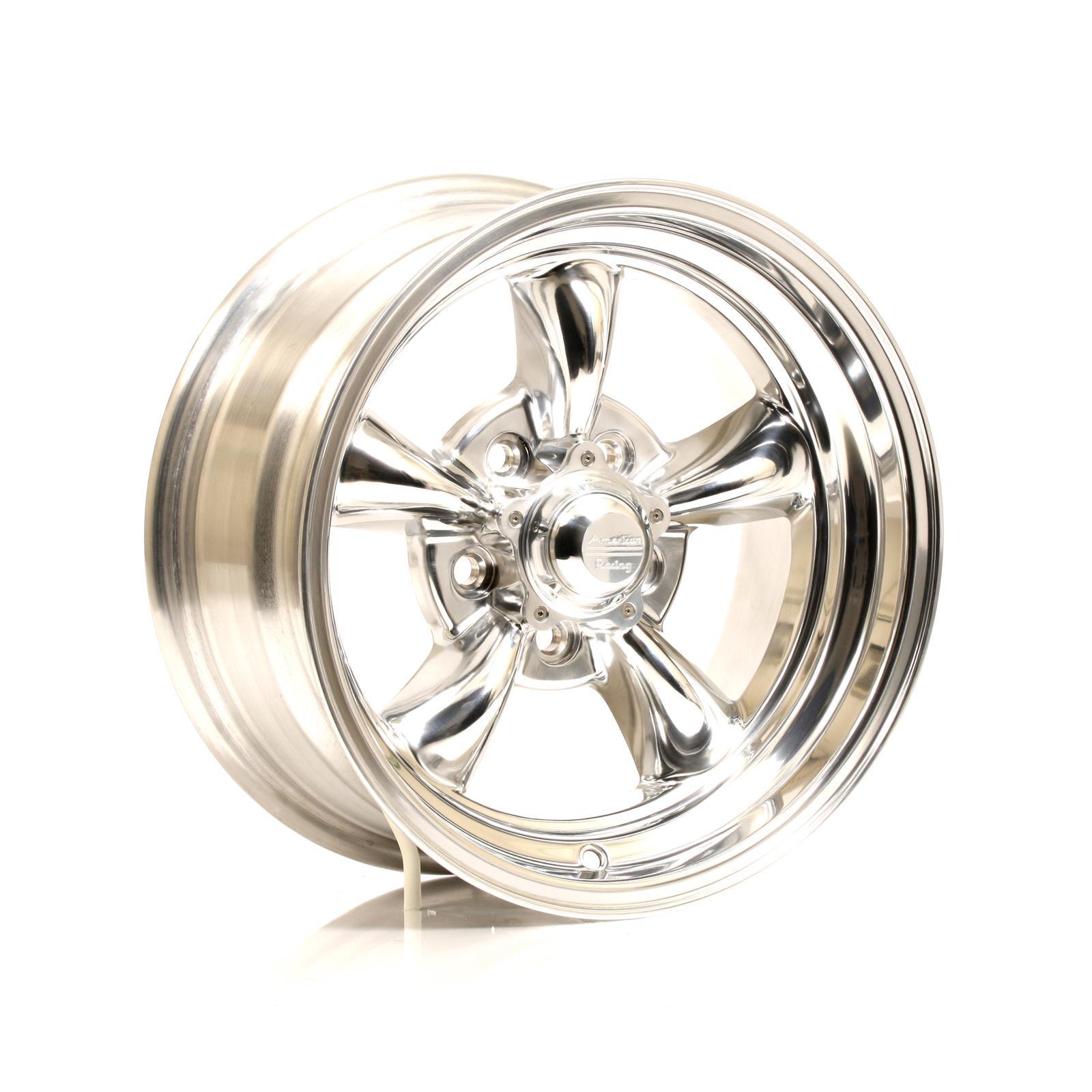 American Racing VN515 Polished Torq-Thrust II One-Piece Wheels VN5155765