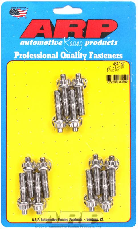 SB CHEVY PAN,VALVE COVER TIMING COVER STUD  KIT-S//S