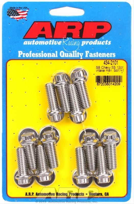 ARP 134-2101 Intake Manifold Bolt Kit