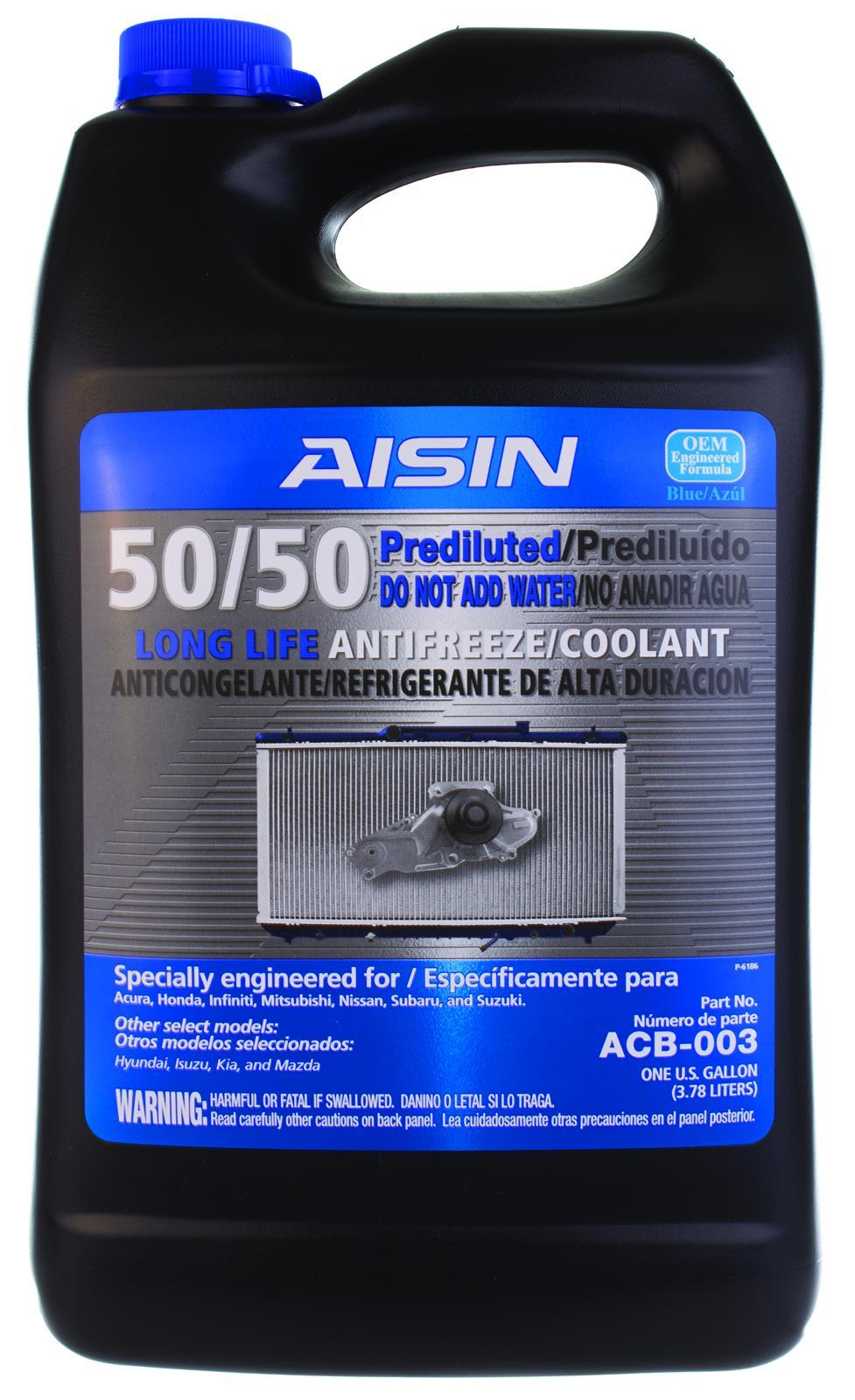 genuine nissan long life antifreeze/coolant (blue) or equivalent