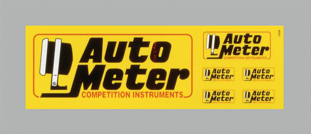 autometer logo. autometer contingency logo decals 0208 - free shipping on orders over $99 at summit racing autometer e
