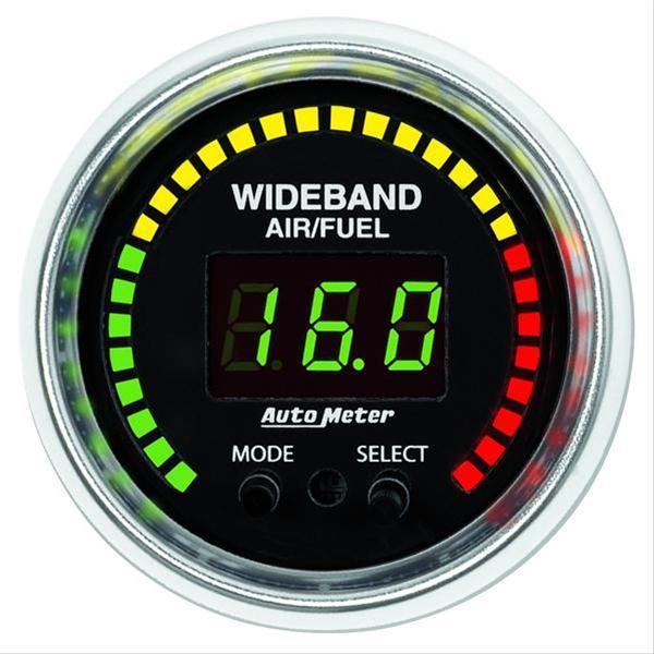 Summit Digital Meters : Autometer gs series wideband air fuel ratio gauge