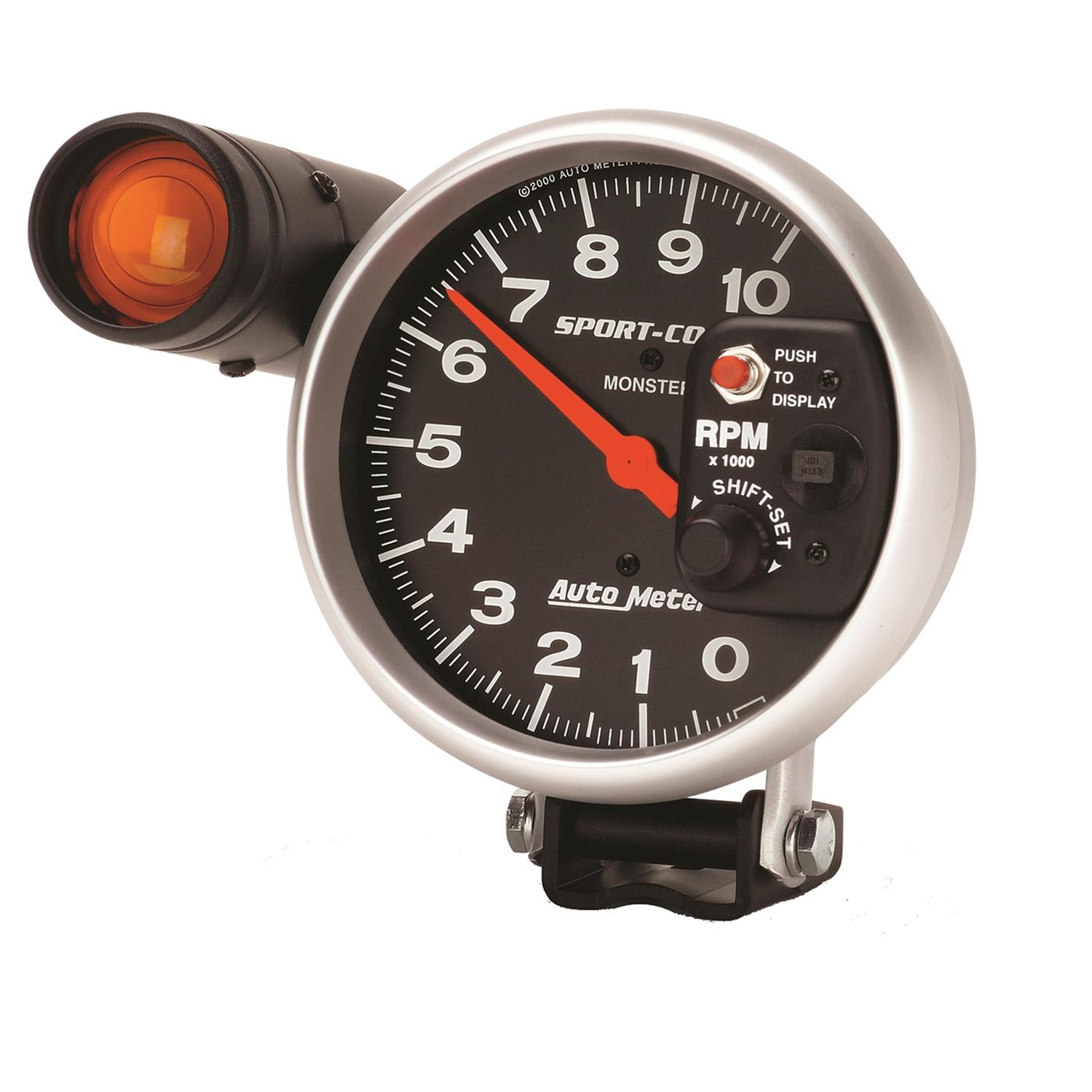 AutoMeter Sport-Comp Monster Shift-Lite Tachometers 3904 - Free Shipping on  Orders Over $49 at Summit Racing