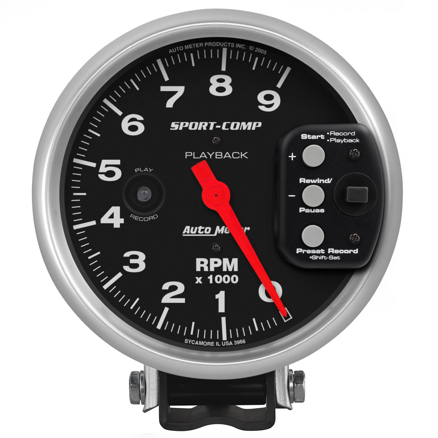 AutoMeter Sport-Comp Playback Tachometers 3966 on
