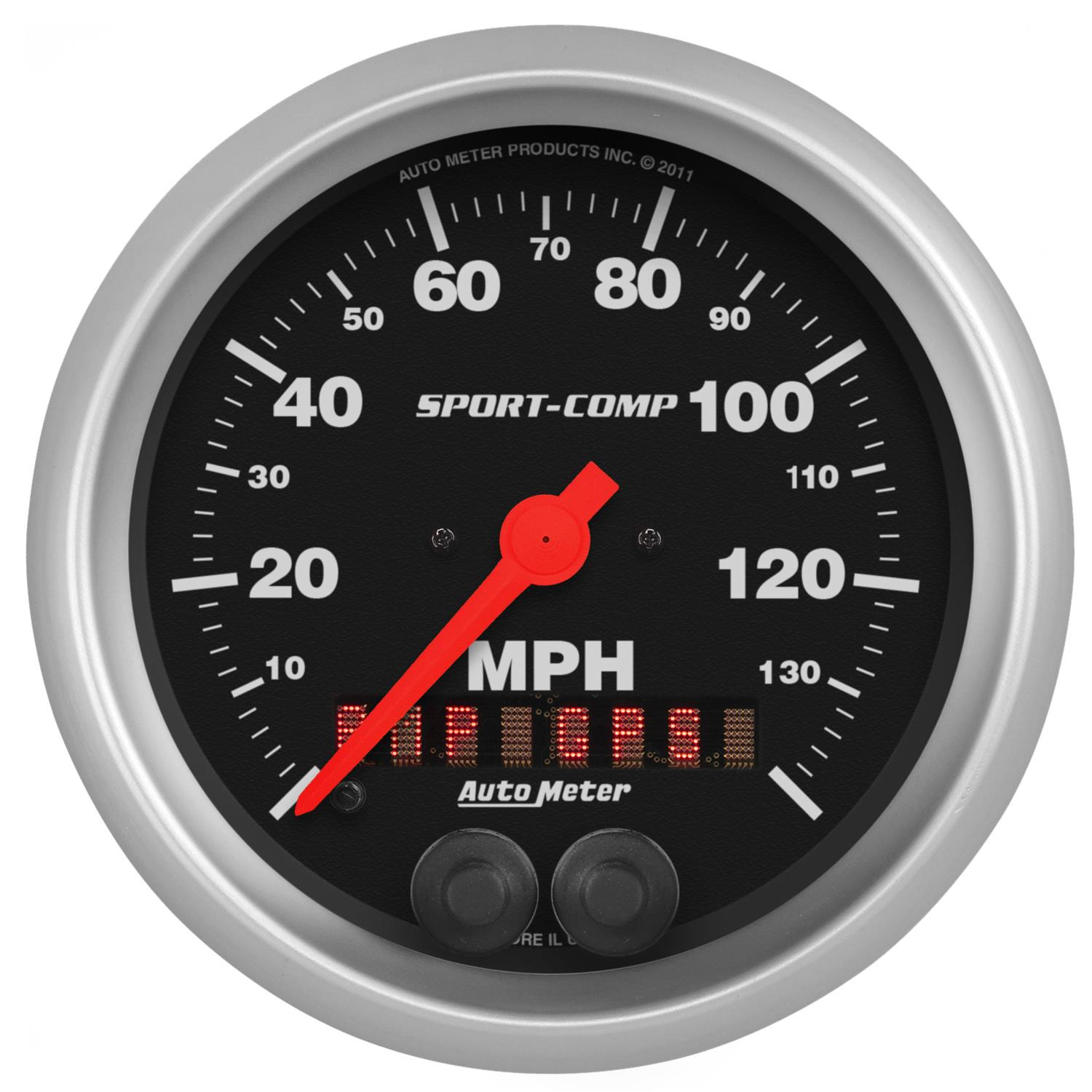 Auto Meter Electronic Speedometers : Auto meter sport comp series gps enabled speedometer