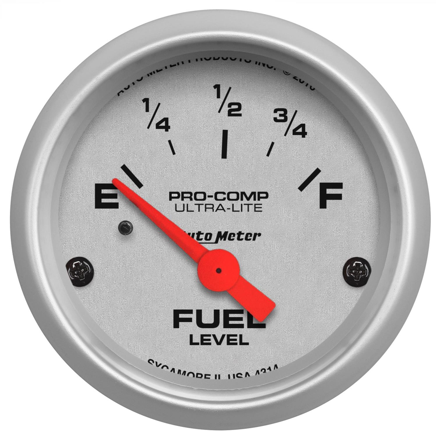 atm 4314_xl autometer ultra lite analog gauges 4314 free shipping on orders autometer fuel level gauge wiring diagram at gsmx.co