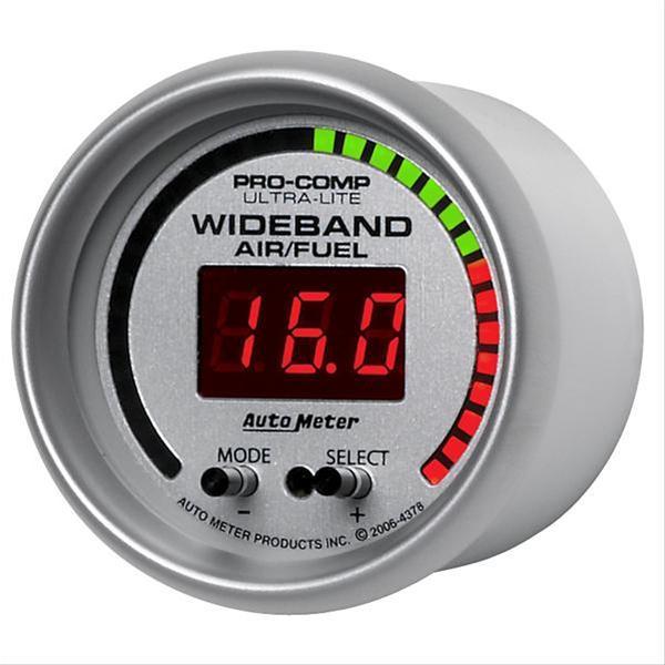 Summit Digital Meters : Autometer ultra lite digital gauge air fuel ratio