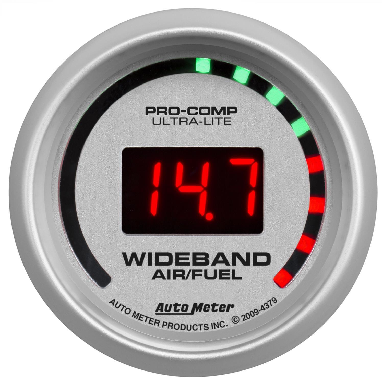 Summit Digital Meters : Auto meter ultra lite digital gauge ebay