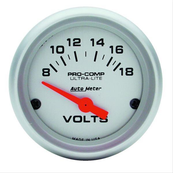Autometer Volt Gauge Wiring - Electrical Work Wiring Diagram •