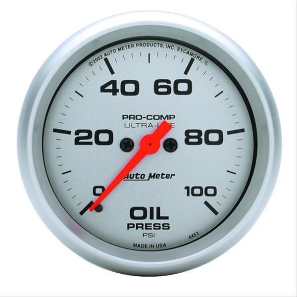 Summit Digital Meters : Autometer ultra lite analog gauges free shipping on