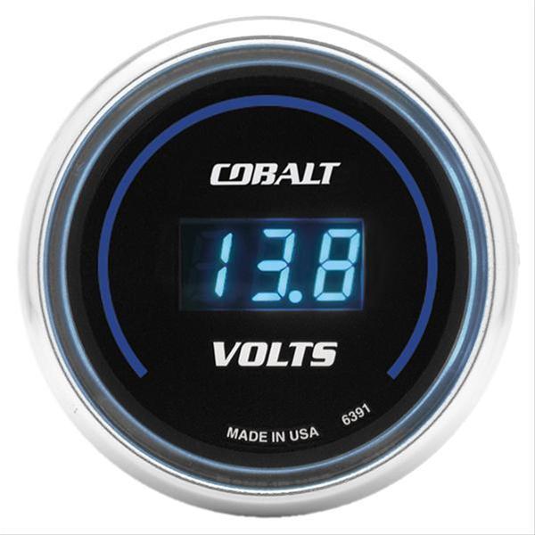 Summit Digital Meters : Autometer cobalt digital gauge voltmeter quot dia