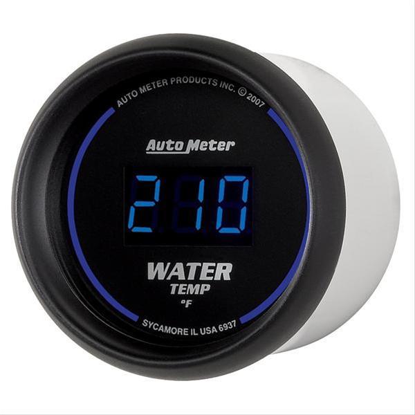 Summit Digital Meters : Autometer cobalt digital series gauge water temperature