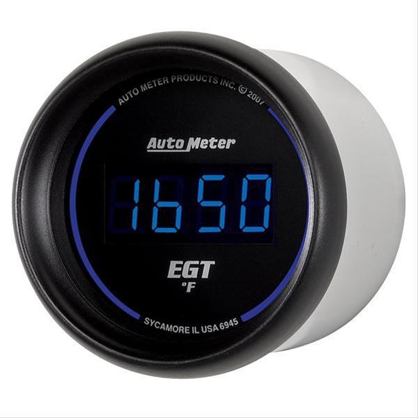 Summit Digital Meters : Autometer cobalt digital series gauge egt pyrometer