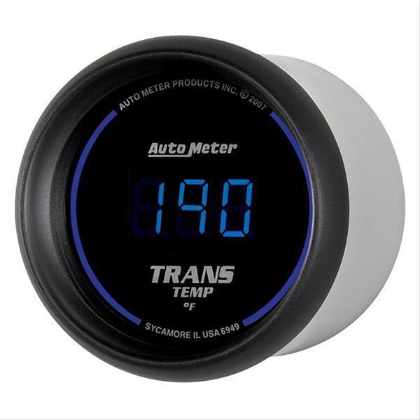 Summit Digital Meters : Autometer cobalt digital series gauge transmission