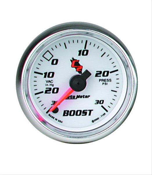Details about Autometer C2 Electrical Boost/Vacuum Gauge 2 1/16
