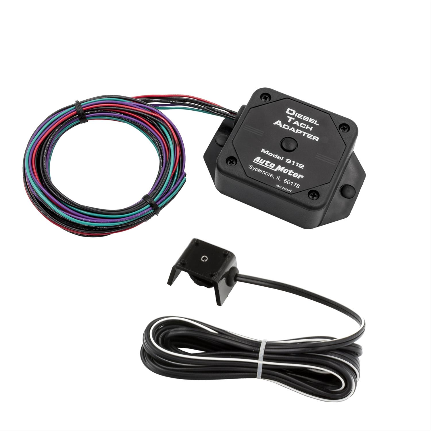 AutoMeter Diesel Tach Adapters 9112 - Free Shipping on Orders Over $49 at  Summit Racing