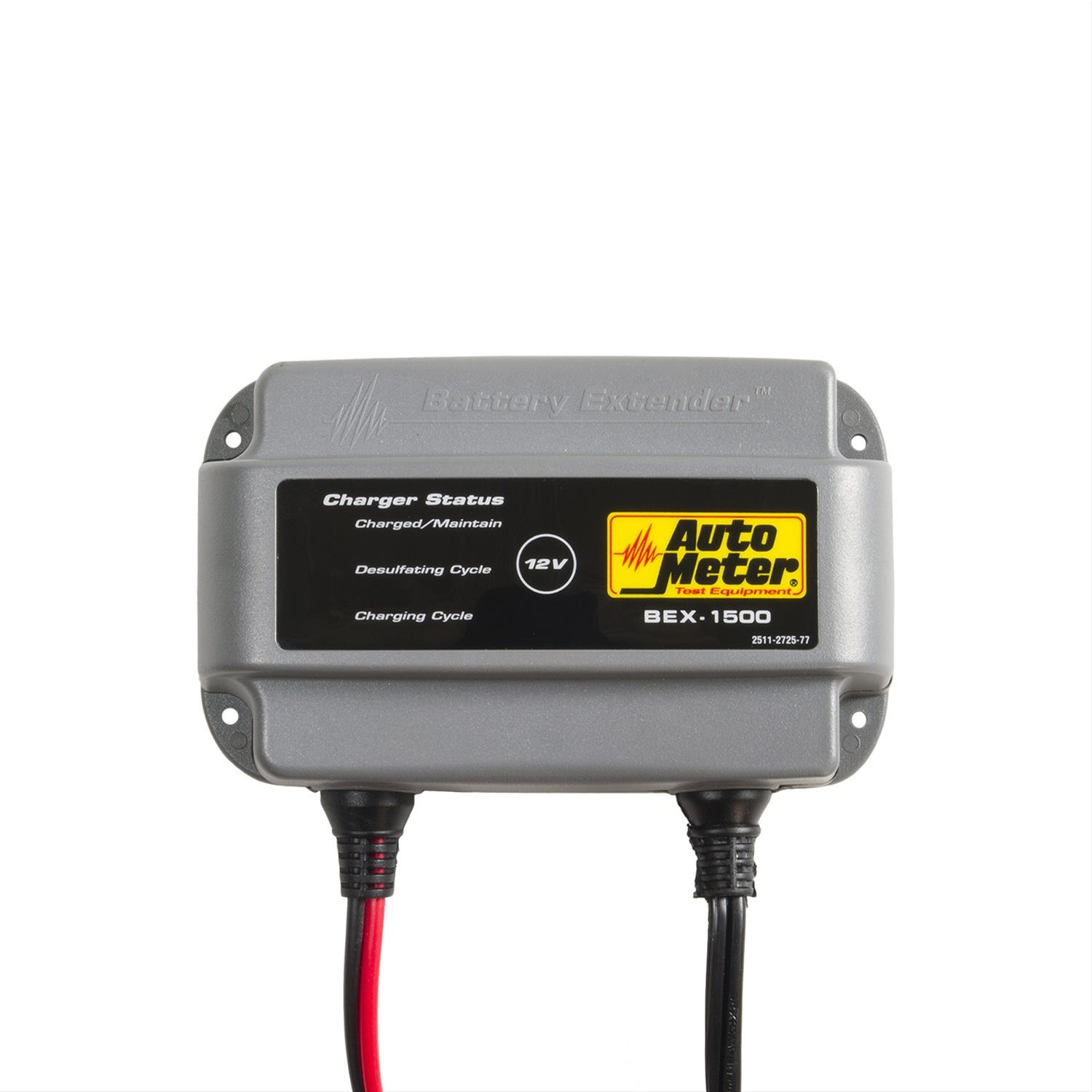 Backup Battery For Amp Meter : Auto meter bex battery charger volt