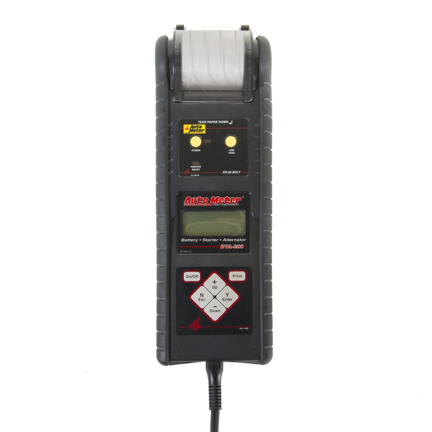 Hand Held Battery Tester : Autometer intelligent hand held battery and system tester