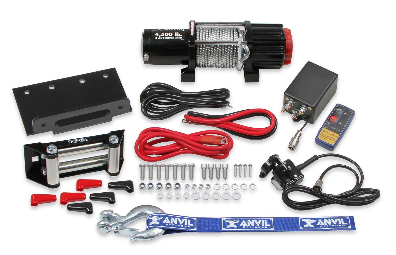 Winch Replacement Parts Wireless Remote Quad Boss FEWLO1-4J-QB