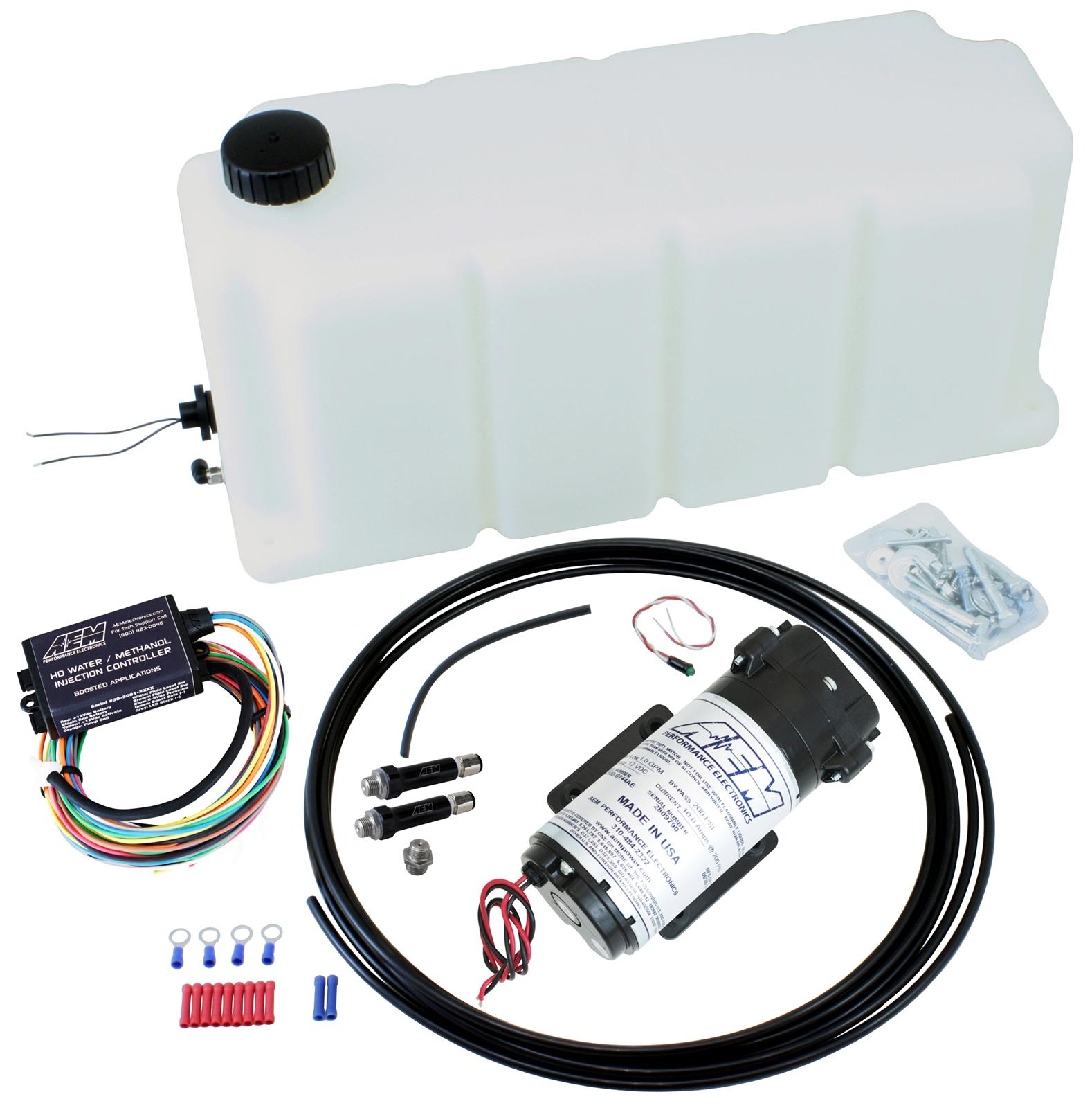 Aem Electronics Water Methanol Injection Kits 30 3001 Free Wiring Harness Shipping On Orders Over 49 At Summit Racing