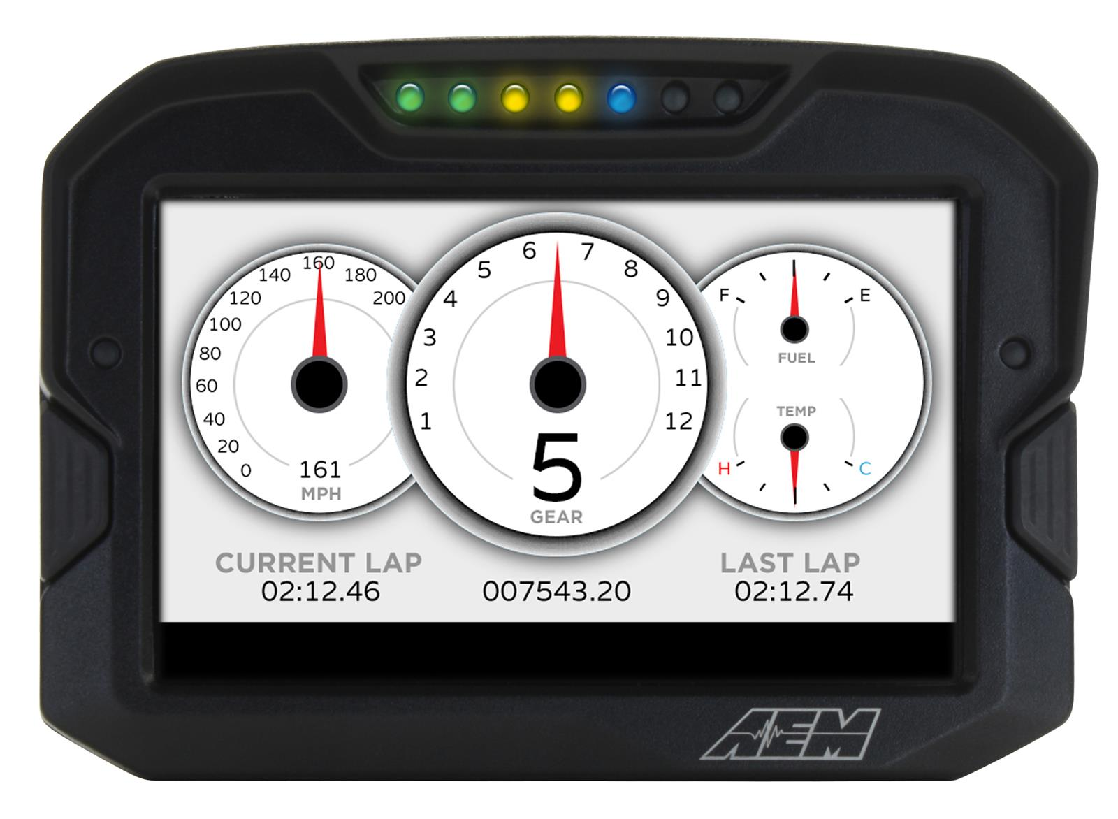 AEM Electronics CD-7 Digital Racing Dash Displays 30-5502
