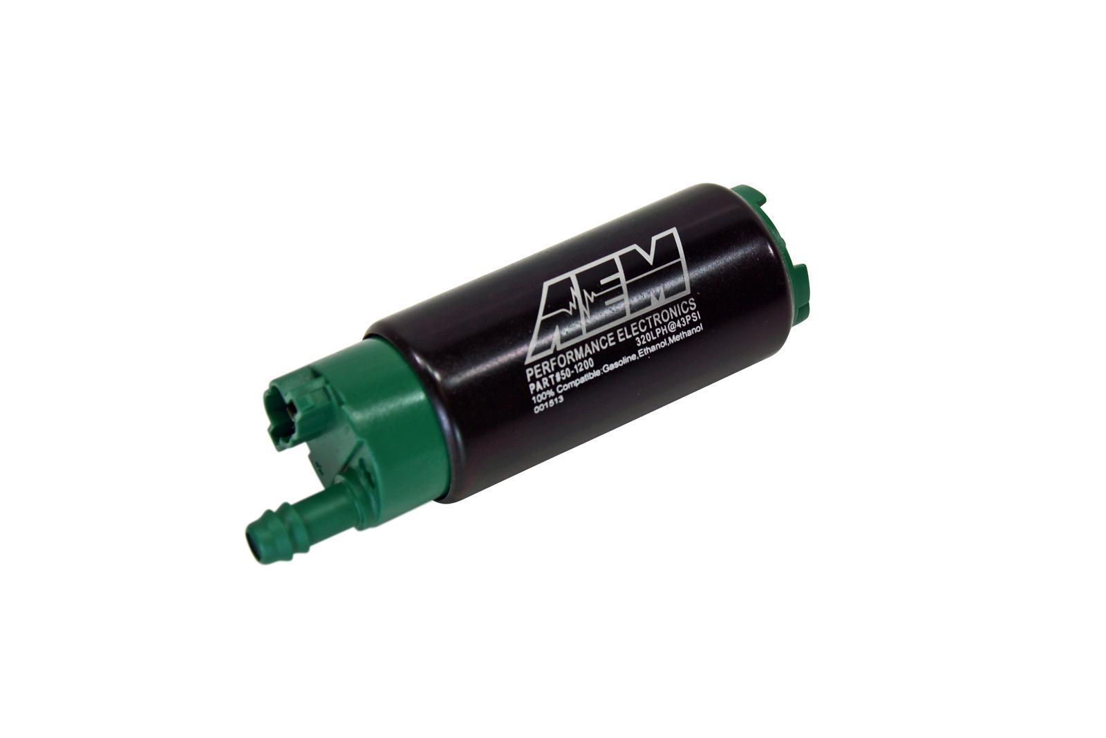 GENUINE AEM 50-1000 340LPH High Performance Intank EFI Fuel Pump w//Install Kit