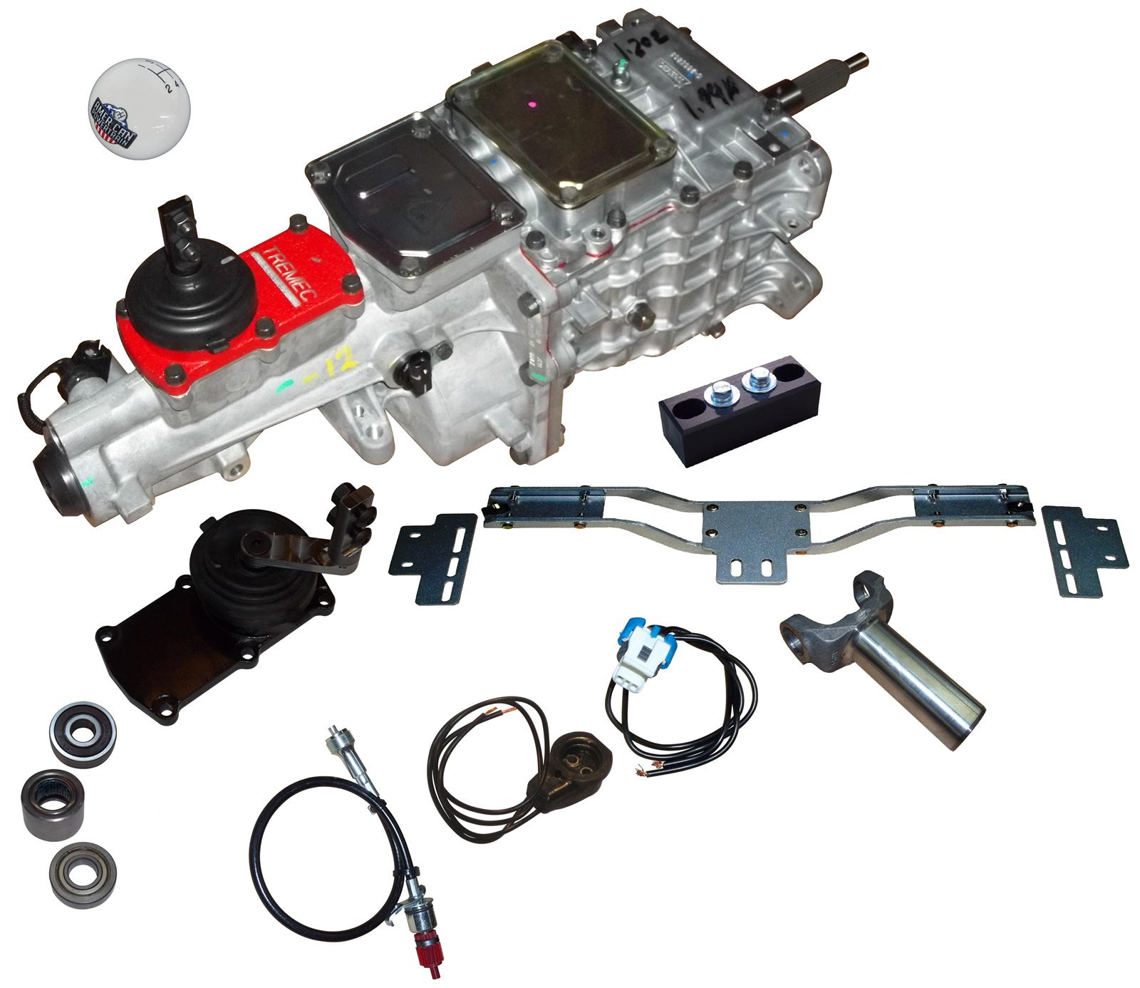 Camaro American Powertrain Tremec Tko 500 Manual Transmission And System Installation Kits Cogm F2b Free Shipping On Orders Over 99 At Summit Racing